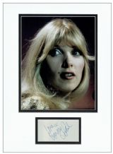 Lynsey de Paul Autograph Signed Display